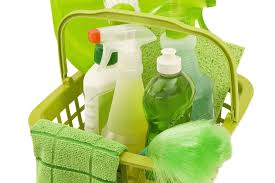 using green products to clean the home go green save environment