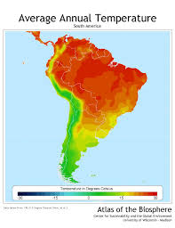 Maps South America by Climate Map Of South America Google Search Latin Culture