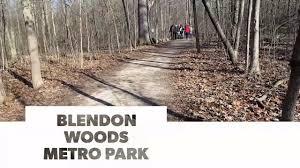 Highbanks Metro Park Map by Blendon Woods Metro Park Hike Youtube