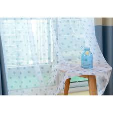 White Polka Dot Sheer Curtains Stylish White Polka Dot Sheer Curtains Decor With Whiteba Blue