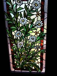 Flower Glass Design 528 Best Flowers And Not So Edible Plants Stained Glass Images