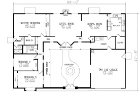 one story floor plan uncategorized house plan bungalow style showy in imposing one story