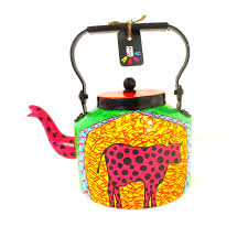 Cow Home Decor Handcrafted U0026 Painted Polka Dot Pink Cow Teapot Discovered