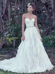 modern wedding dress maggie sottero white oganza auburn modern wedding dress size 8 m