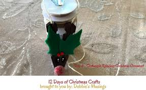 clothespin reindeer ornament debbie s musings