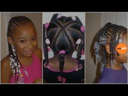 lil braided hairstyles ideas about kids braided hairstyles