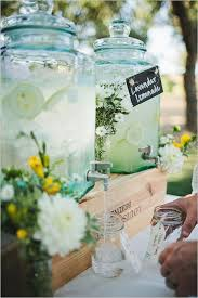 Drinks For Baby Shower - summer inspired outdoor baby shower decoration ideas