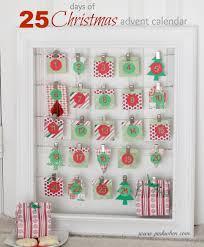 25 days of christmas advent calendar pinkwhen