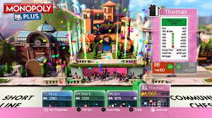Monopoly Map Ubisoft Monopoly Plus