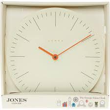 tk maxx home decor cream glass wall clock 30cm clocks home accessories home