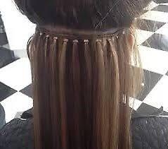 individual extensions 40 micro loop hair extensions individual rings micro loop weft