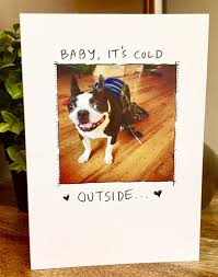 dog christmas cards christmas card boston terrier card dog christmas