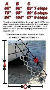 bow to beach ladders bow to beach boat ladders store pinterest