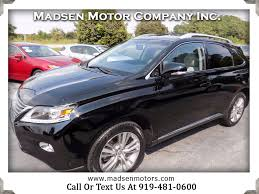 lexus v8 suv for sale used cars for sale cary nc 27511 madsen motor company inc