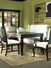 table with bench seat dining room benches upholstered bench seating dining awesome dining
