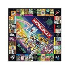 amazon black friday 129 aus amazon com monopoly rick u0026 morty board game toys u0026 games