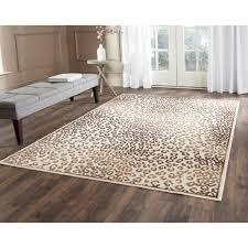 White Leopard Rug Grey Cheetah Print Rug Creative Rugs Decoration