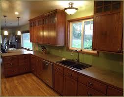 mission oak kitchen cabinets home decoration ideas