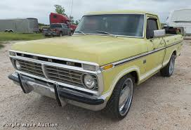 1973 ford f100 pickup truck item db2589 sold july 5 veh