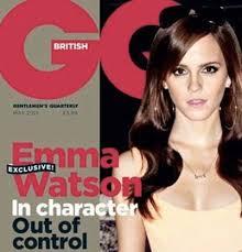 emma watson tattoo is fake tattoo photo for gq magazine not real