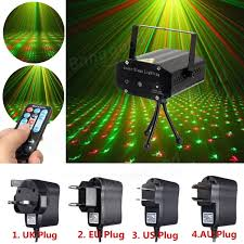 mini r g auto voice led laser stage light projector with remote