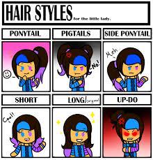 Meme Hairstyles - hairstyles meme by miss cutie cupcake16 on deviantart