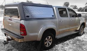 Land Cruiser Aluminium Canopy by Hilux Vigo 2005 2015 Single Cab Superlite Toyota Rhinoman