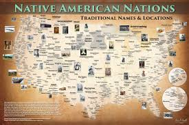 Native American Tribes Map Indigenous Worldview Iiwgha