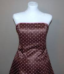 jessica mcclintock gunne sax chocolate brown u0026 pink polka dot