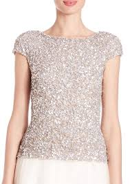 9 shining sequin tops for with trendy designs