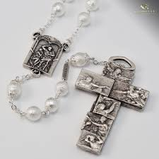 rosary from the vatican vatican museums silver plated rosary ghirelli rosaries