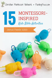 38 best preschool jesus feeds 5000 images on pinterest sunday