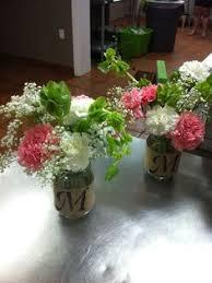 Mason Jar Floral Centerpieces Do It Yourself Divas Diy Mason Jar Flower Arrangements Things