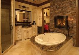 bathroom designs 2013 51 mesmerizing master bathrooms with fireplaces