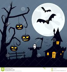 halloween scary landscape royalty free stock image image 34363406