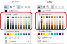 colour themes for excel changing your style in the new word microsoft 365 blog