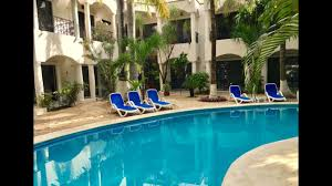 what the hacienda paradise hotel is like in playa del carmen youtube