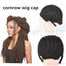 crochet hair wigs for sale cheap best sale braid cornrow wig caps for making sexy hair products