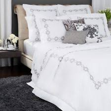 dkny pure comfy cotton full queen duvet cover light grey bedding