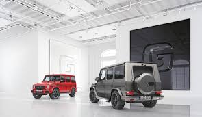 mercedes g wagon red interior made to measure designo manufaktur for the g class mercedes benz