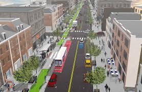 washington street corridor complete street redesign tiger