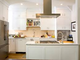 Transitional Kitchen Designs by Cool Small White Transitional Kitchen With White Cabinet Kitchen