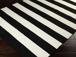 Black And White Striped Runner Rug Cool Black And White Striped Runner Rug Image Of Nightstand Black