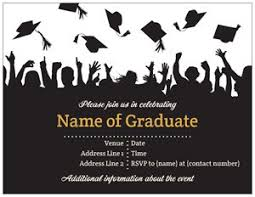 graduation invite graduation announcements templates vistaprint