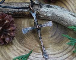 men s religious jewelry mens cross necklace etsy