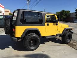 jeep wrangler unlimited sport top off jeep wrangler hardtop from rally tops custom fiberglass