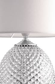 Small Table Lamp Next Buy Chrome Glamour Small 2 Light Table Lamp From The Next Uk