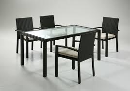 tavoli da giardino rattan tavolo per esterno in rattan sintetico ecorattan linear home