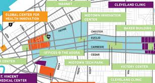 map of cleveland clinic cleveland thinks broadband 100 times faster than anyone else