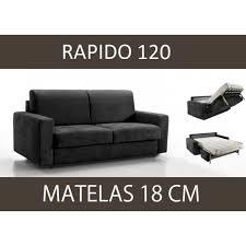canapé lit matelas épais canapé lit 2 places master convertible rapido 1 achat vente